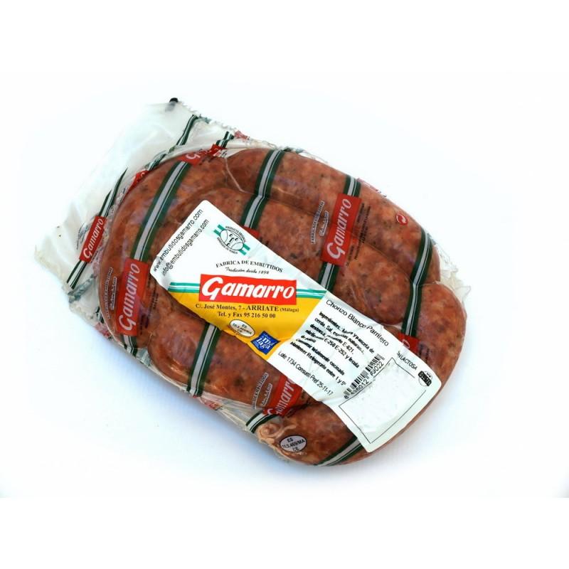 Chorizo blanco parrillero